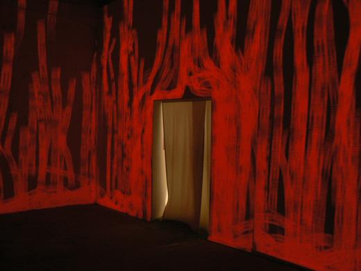 la salle rouge